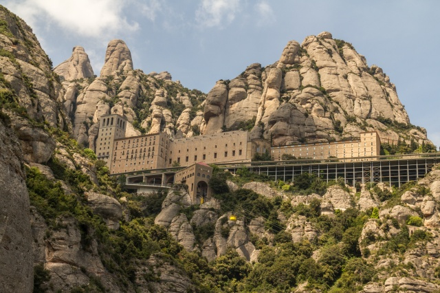the Montserrat, Spain