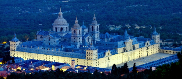 Royal Monastery in San Lorenzo El Escorial, Madrid, Spain