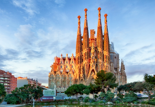 Sagrada Familia, Barcelona. Spain.