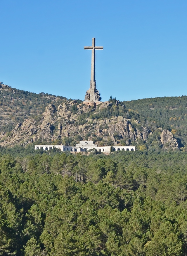 Valley of the Fallen monument in Spain