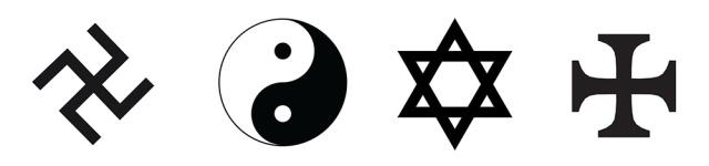 Ambigram-symbols