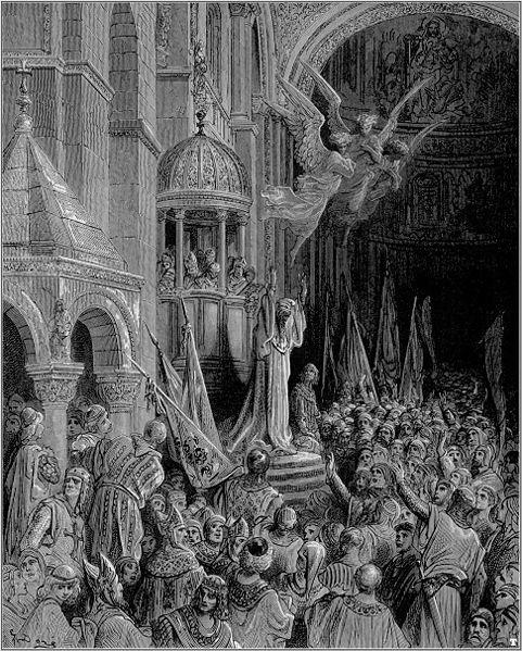 481px-Gustave_dore_crusades_dandolo_preaching_the_crusade