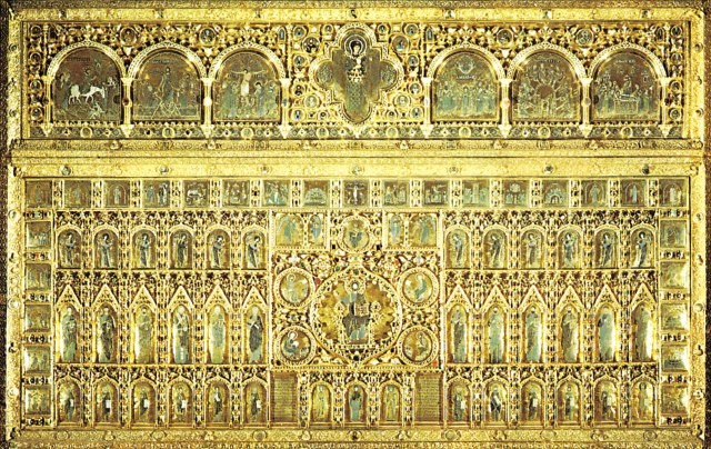 altar-screen-Pala-dOro-cloisonne-enamel-additions