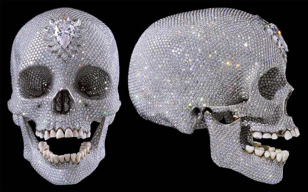 damien-hirst-diamond-set-skull-for-the-love-of-god-bentley-skinner-jewellery-shop-in-london