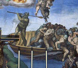 Last_Judgement_(Michelangelo)-1