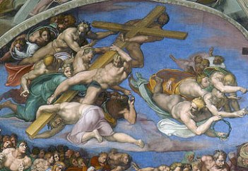 Last_Judgement_(Michelangelo)-2