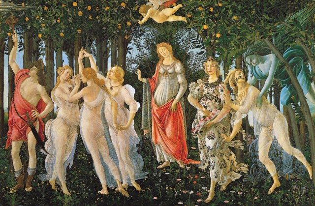 Plate-tempera-wood-The-Primavera-Sandro-Botticelli